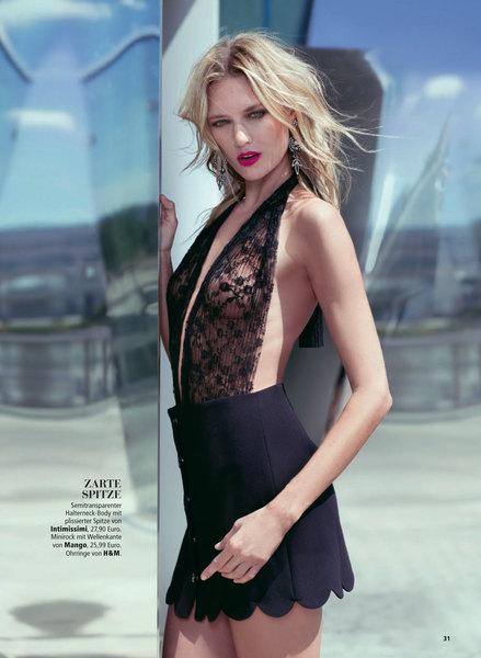 Look Models International Ana For Madonna Magazine
